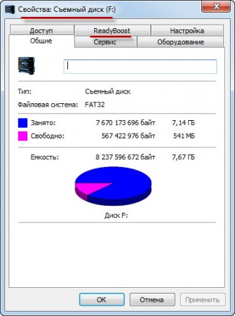 Опция Ready Boost у windows 7