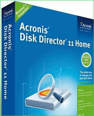 Акронис диск директор