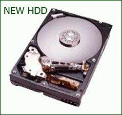 Установка нового жёсткого диска