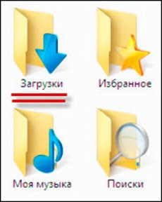 Папка загрузки windows 7
